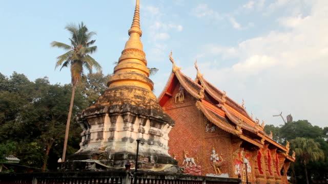 Tempel in wat phra dat lampang luang, Thailand