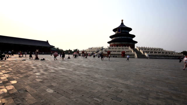 temple of heaven park - temple of heaven stock videos & royalty-free footage