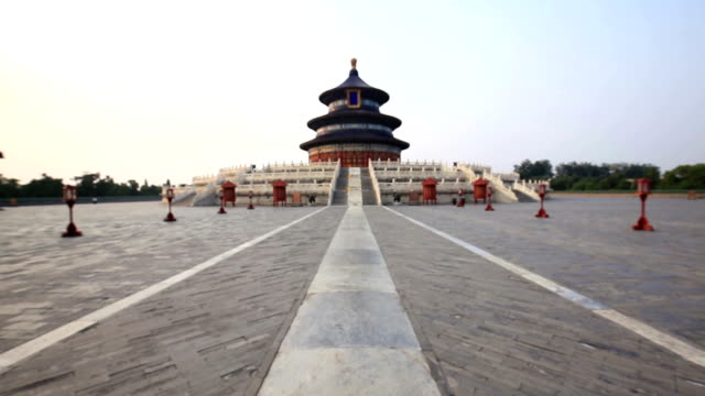 vidéos et rushes de temple of heaven park - temple du ciel