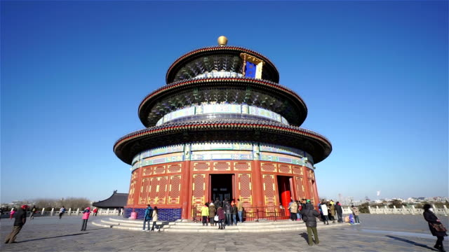 temple of heaven - temple of heaven stock videos & royalty-free footage