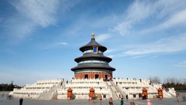 vidéos et rushes de temple of heaven - temple du ciel