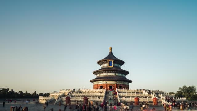 t/l pan temple of heavens (tiantan) / beijing, china - impero video stock e b–roll