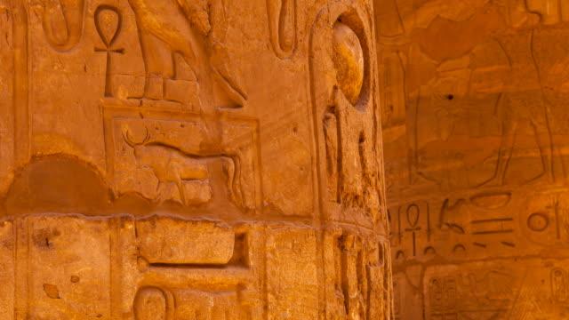 temple of karnak - 美術工芸品点の映像素材/bロール