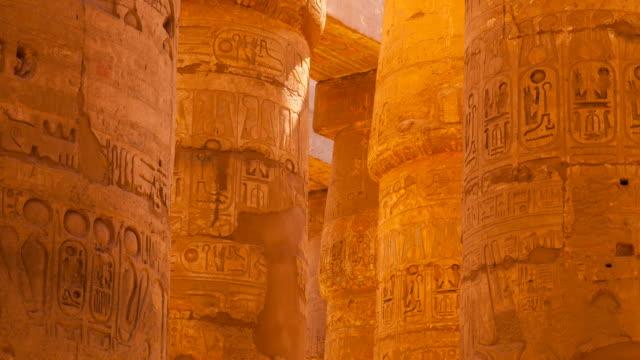temple of karnak - temples of karnak stock videos & royalty-free footage