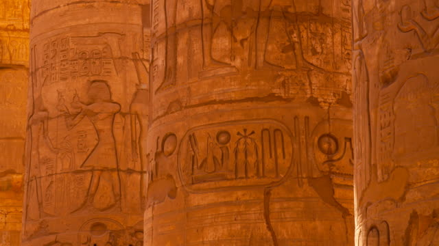 temple of karnak - temples of karnak stock videos and b-roll footage
