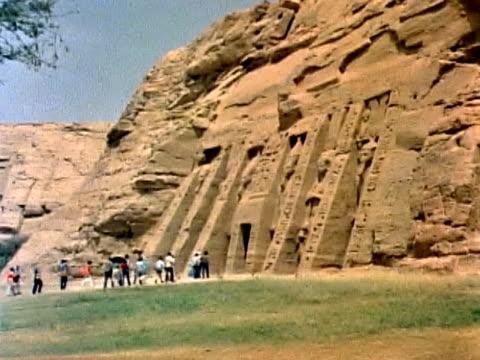 temple of rameses in abu simbel #2 - pharaoh stock videos & royalty-free footage