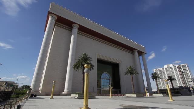 temple of solomon / sao paulo, brazil - religiöse darstellung stock-videos und b-roll-filmmaterial