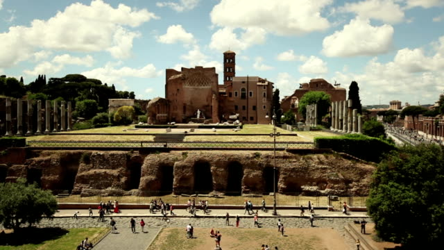 Temple of Venus and Roma from the Coliseum