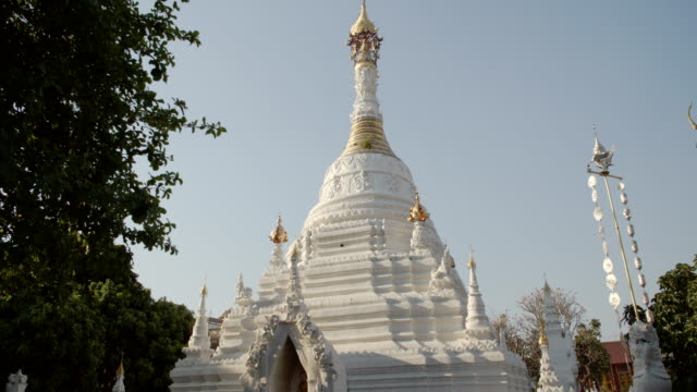 Temple pagoda in Thailand