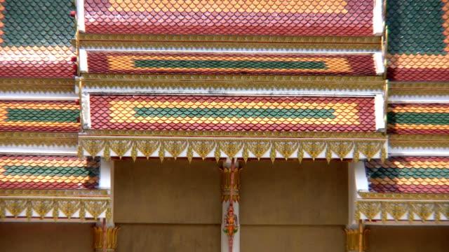 temple in bangkok - berner alpen stock-videos und b-roll-filmmaterial