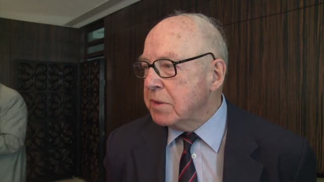 ten years after the us led invasion on iraq ex un inspector hans blix has urged world powers to avoid committing the same error by going to war... - inspector stock videos & royalty-free footage