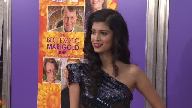 Tena Desae at The Best Exotic Marigold Hotel New York Premiere Presented By Fox Searchlight Pictures And Participant Media at Ziegfeld Theatre on...