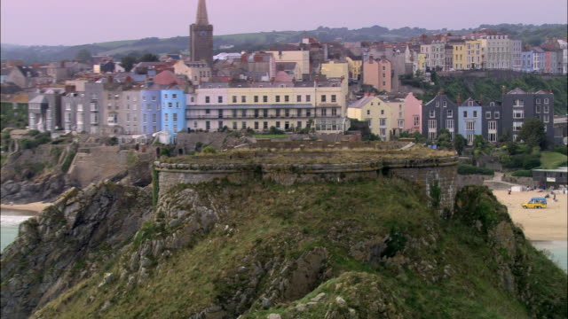 tenby - pembrokeshire stock videos & royalty-free footage