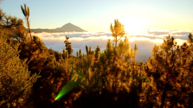 Tenerife's Teide National Park sunset