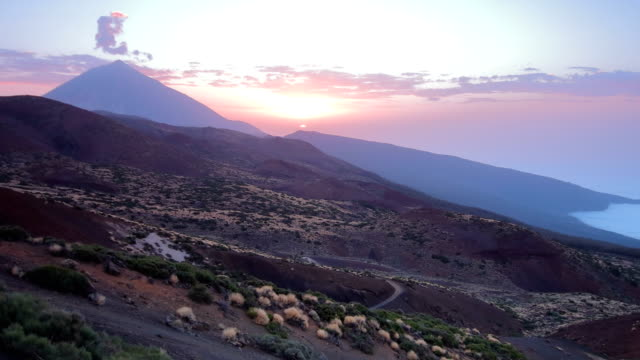 tenerife's teide national park time lapse - national park stock videos & royalty-free footage