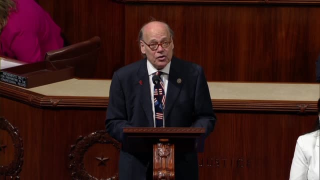 Tennessee Congressman Steve Cohen jokes he was lowering the bar to speak for one minute suggesting the country's democracy and rule of law were being...