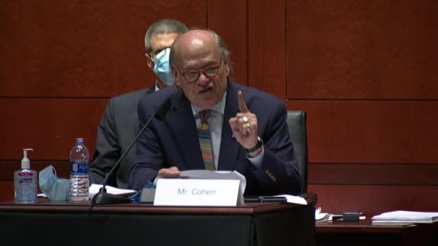 tennessee congressman steve cohen tells attorney general bill barr at a house judiciary committee hearing of what happened in portland that maybe the... - attorney general stock videos & royalty-free footage