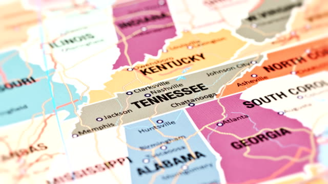 tennessee from usa states - nashville stock videos & royalty-free footage