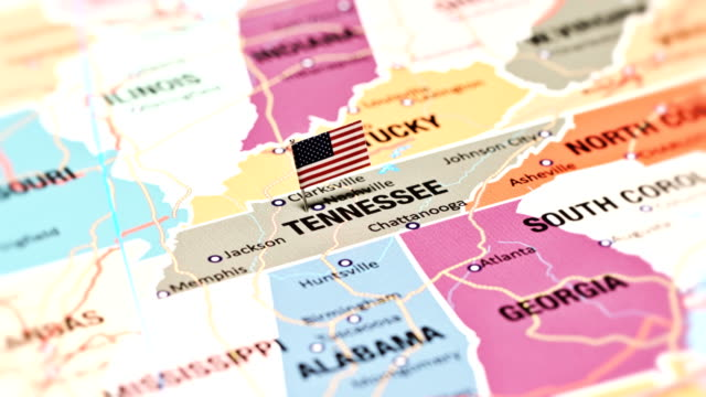 tennessee usa staaten - tennessee stock-videos und b-roll-filmmaterial