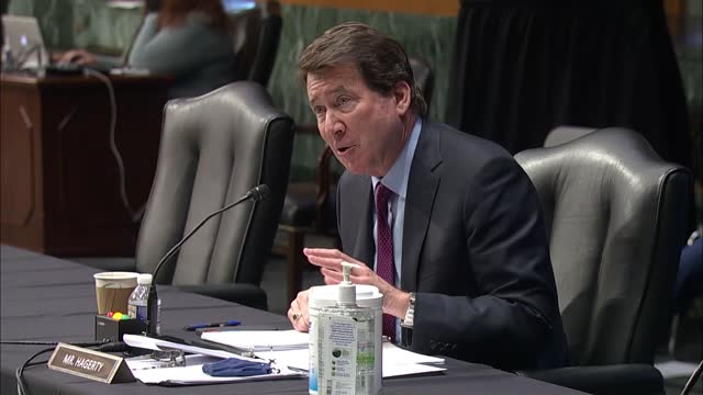tennessee senator bill hagerty says at senate foreign relations committee nomination hearing with state department deputy secretary nominee wendy... - nomination stock videos & royalty-free footage