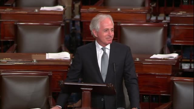 Tennessee Senator Bob Corker says as a sixmonth spending bill neared that he had once said there was no question leadership in Congress and the...