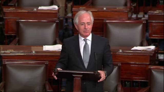 Tennessee Senator Bob Corker says as a sixmonth spending bill neared that Congress found itself with 2332 pages no one had read and things would be...