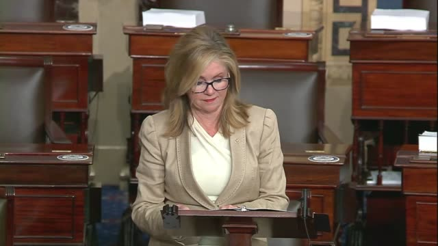 tennessee senator marsha blackburn says in a floor speech about google, facebook and big tech companies that the compulsion to flag and report and... - big tech stock videos & royalty-free footage