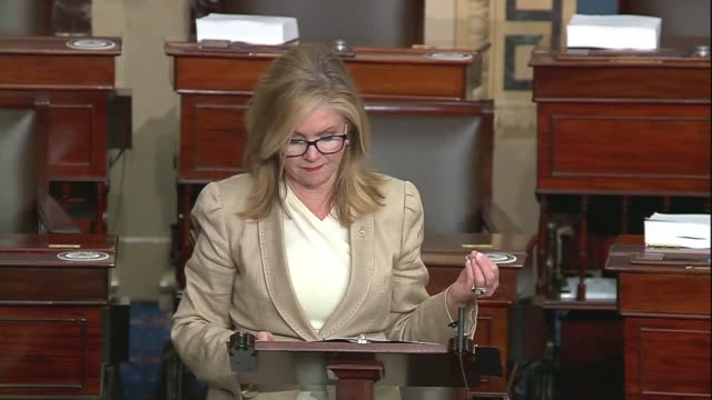tennessee senator marsha blackburn says in a floor speech about google, facebook and big tech companies that they had the power to ruin content... - big tech stock videos & royalty-free footage