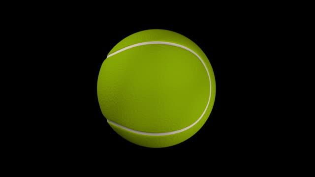 hd tennis ball animation - tennis ball stock videos & royalty-free footage