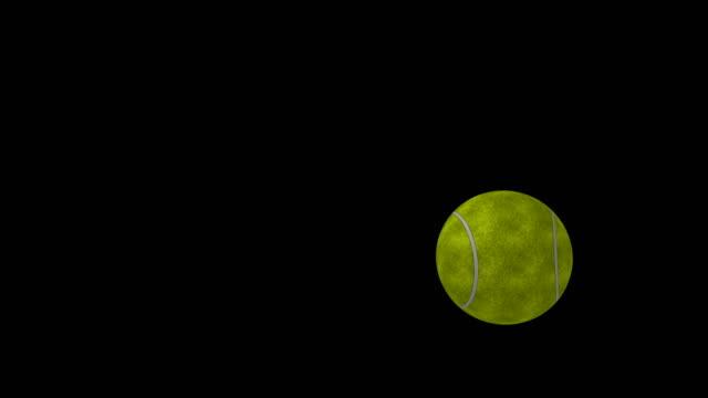 tennis ball - tennis ball stock videos & royalty-free footage