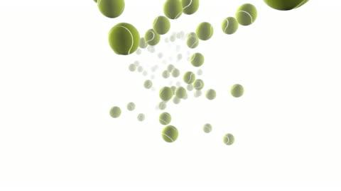 tennis balls bouncing - bouncing stock videos & royalty-free footage