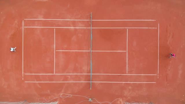tennis court - tennis racquet stock videos & royalty-free footage