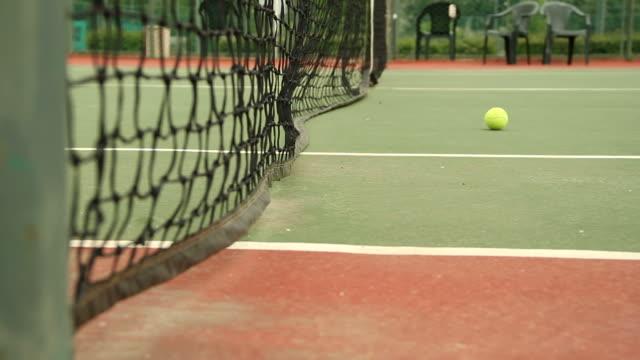 vidéos et rushes de court de tennis - terrain de jeu