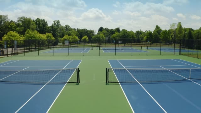 tennis courts - court stock videos & royalty-free footage