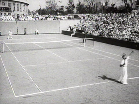 Tennis game between novikov and khebda at dynamo stadium AUDIO / Moscow Russia