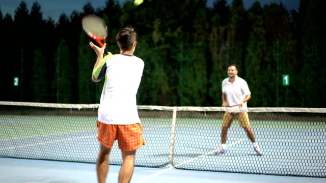 tennis match - forehand stock videos & royalty-free footage