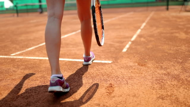 tennis player in action - tennis stock videos & royalty-free footage