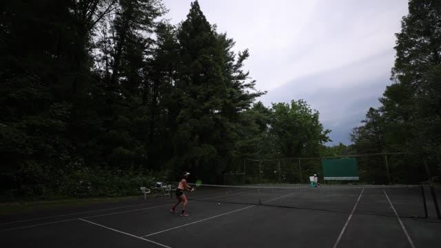 MD: Pro Tennis Player Sophie Chang Trains During Coronavirus Pandemic