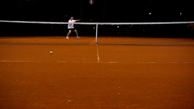 tennis player - court stock videos & royalty-free footage