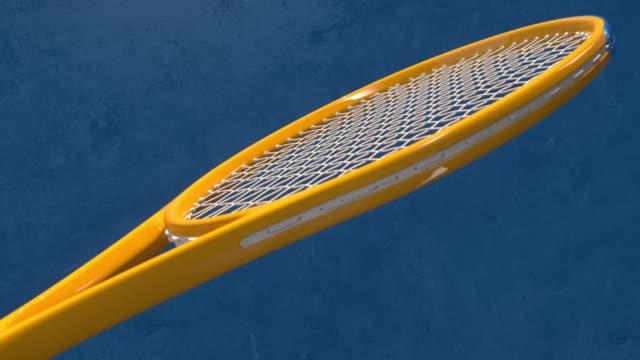 tennis racket - tennis stock-videos und b-roll-filmmaterial