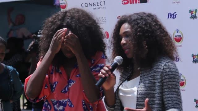 tennis star serena williams hopes that her african tour with elder sister venus will encourage athletes on the continent to strive for excellence in... - sister stock videos & royalty-free footage