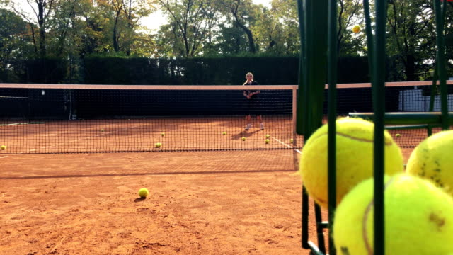 Tennis Training With Private Coach