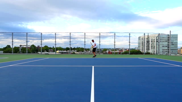 テニスコート - スポーツコート点の映像素材/bロール