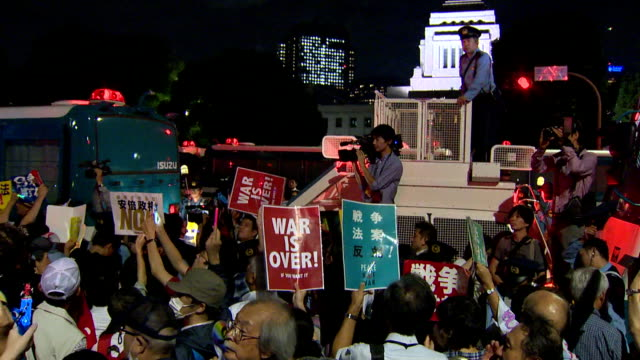 Tens of thousands of citizens took to the streets and surrounded the Diet building in Tokyo on Monday amid growing public opposition to controversial...