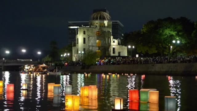 Tens of thousands of people gathered for peace ceremonies in Hiroshima on Wednesday marking the 69th anniversary of the US atomic bombing of the city...