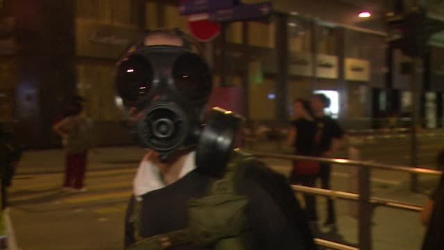 tens of thousands of pro democracy protesters turn parts of hong kong into a massive street party with the mood turning festive just a day after riot... - occupy central stock videos & royalty-free footage