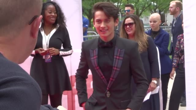 tenzing norgay trainor at the 2019 toronto international film festival at celebrity sightings in toronto on september 07, 2019 in toronto, canada. - tenzing norgay stock videos & royalty-free footage