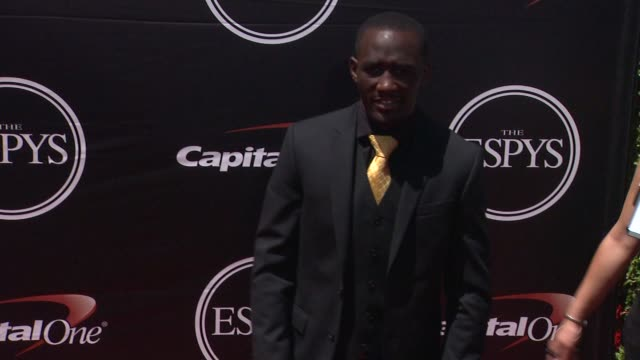 terence crawford at the 2015 espys at microsoft theater on july 15 2015 in los angeles california - microsoft theater los angeles stock videos and b-roll footage