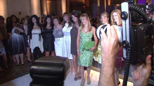Teresa Giudice Jacqueline LauritaCarolyne Manzo Jill Zarin Danielle Staub Ramona Singer Dina Manzo and Alex McCord at the Bravo's 'The Fashion Show'...