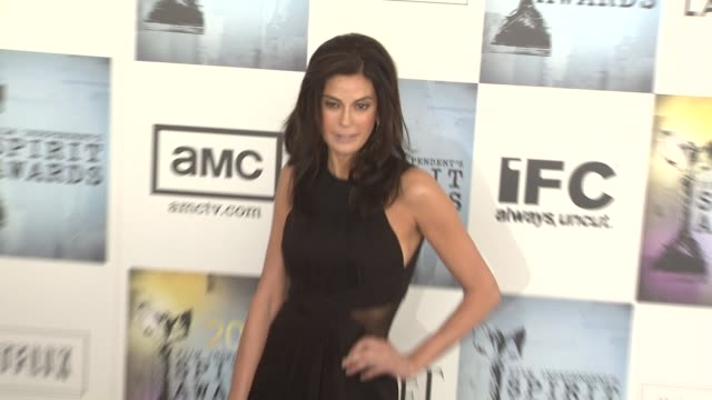 teri hatcher and dawn hudson at the film independent's 2009 spirit awards arrivals part 3 at los angeles ca. - teri hatcher stock videos & royalty-free footage